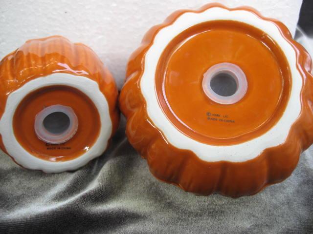 New Hallmark 2012 Pumpkin or Gourds Thanksgiving Fall Salt & Pepper Shakers
