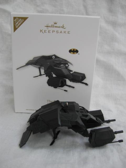 Hallmark 2012 The Bat Batman Special Limited Edition Christmas Ornament