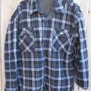 New Marlboro Reversible Western Jacket Shirt Denim Flannel Black & White
