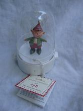 Hallmark Happy Tapper Candy Cane Elf Tabletop Display Magic Movement & Music