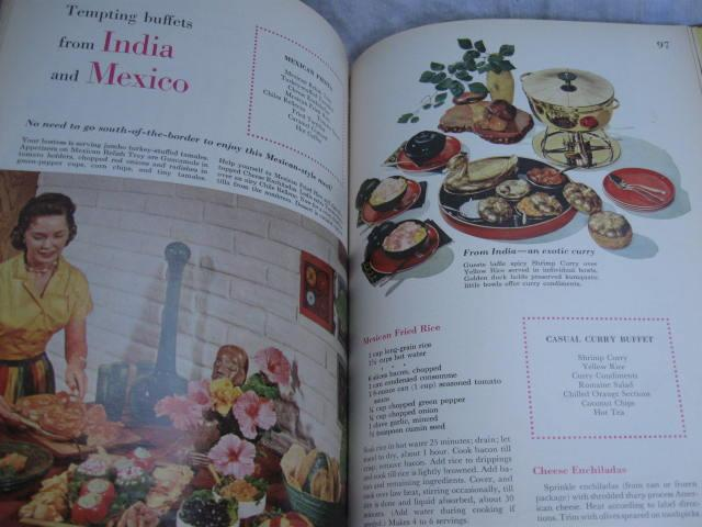 Better Homes & Gardens Holiday Cook Book & Special Occasions Copyright 1959