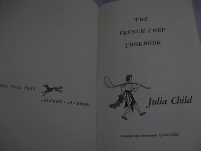 The French Chef Cookbook By Julia Child 1961