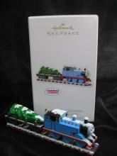 Hallmark 2008 On Track For Christmas Thomas The Tank Engine Christmas Tree Ornament