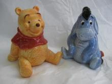 Eeyore & Winnie The Pooh Disney  Salt & Pepper Shakers