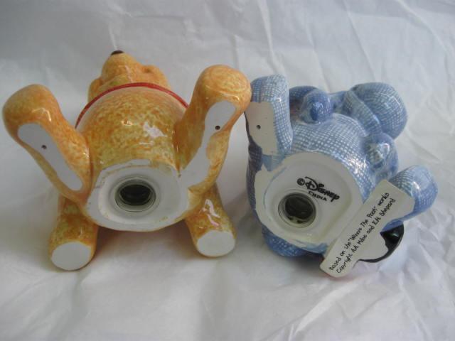 Eeyore & Winnie The Pooh Disney  Salt & Pepper Shakers