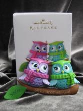 Hallmark 2012 Life's A Hoot With Sisters Christmas Tree Ornament