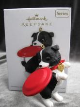 Hallmark 2012 Puppy Love  Christmas Tree Ornament
