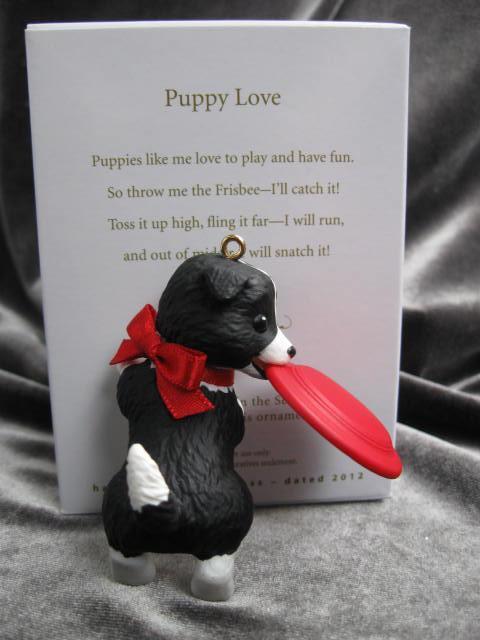 Hallmark 2012 Puppy Love  Christmas Tree Ornament