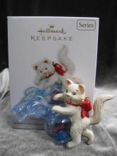 Hallmark 2012 Mischievous Kittens 14th In Series Christmas Tree Ornament