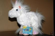 New Retired Regular Size Unicorn Webkinz Sealed Tag + Secret Code