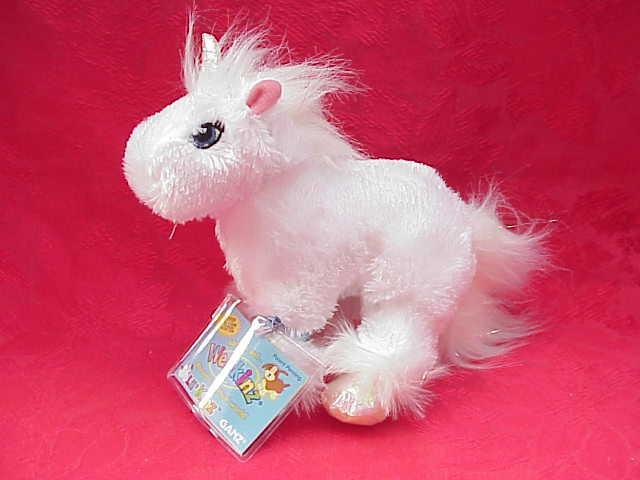 New Webkinz Little Or  Lil Unicorn  With Sealed Tag & Secret Code
