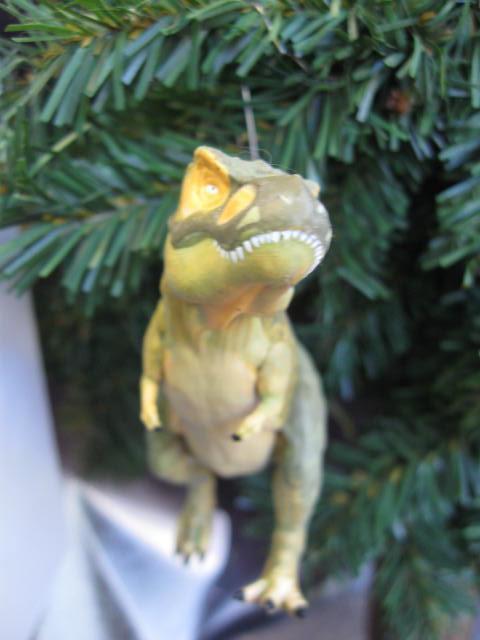 Hallmark 2012 Tyrannosaurus Rex Christmas Tree Ornament