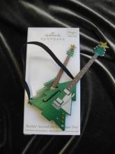 Hallmark 2012 Rockin' Rockin  Around The Christmas Tree Magic Sound Ornament