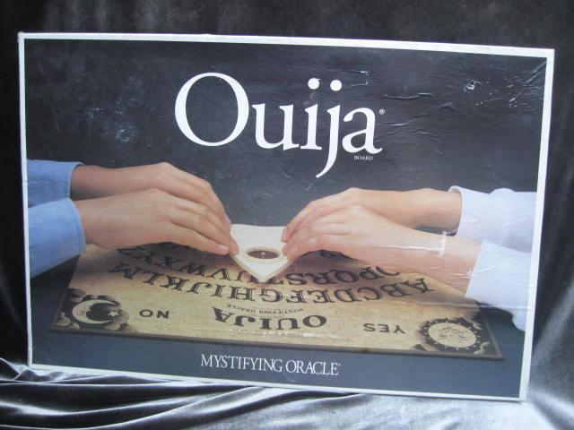 Vintage Halloween Ouija Board Parker Brothers Mystifying Oracle