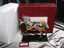 The Phoenix Pony Trail of Painted Ponies 1st Edition  1E / 1674 Low Number  Horse Figurine