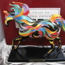 The Phoenix Pony Trail of Painted Ponies 1st Edition  1E / 1513 Low Number  Horse Figurine
