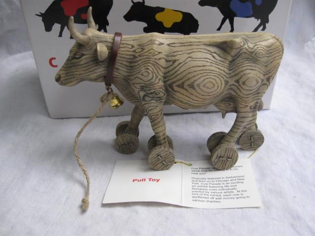 Pull Toy Cows On Parade - Cow Figurine