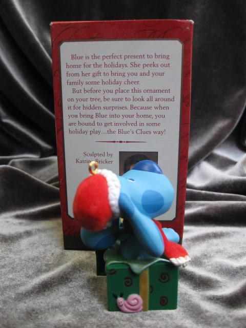 Hallmark 2000 Blue's Clues Surprise Package Christmas Tree Ornament