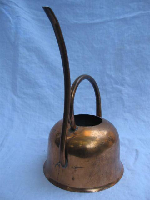 Copper Craft Copper Watering Can Unique Shape