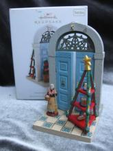 Hallmark 2010 Italy  4th In Doorways Around The World   Series Christmas Tree Ornament