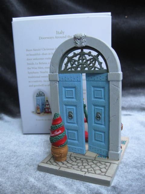 Hallmark 2010 Italy  4th In Doorways Around The World   Series Christmas Tree Ornament