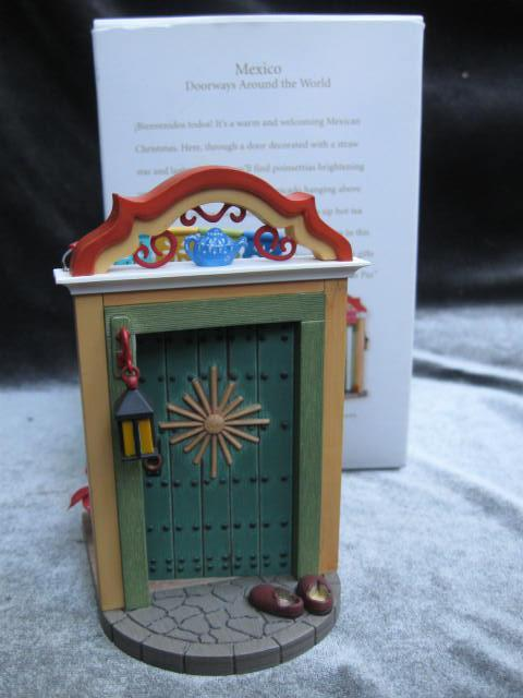 Hallmark 2008 Mexico  2nd In Doorways Around The World   Series Christmas Tree Ornament