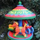 Hallmark 1978 Carousel 1st In Carousel Series Merry Go Round Christmas Tree Ornament