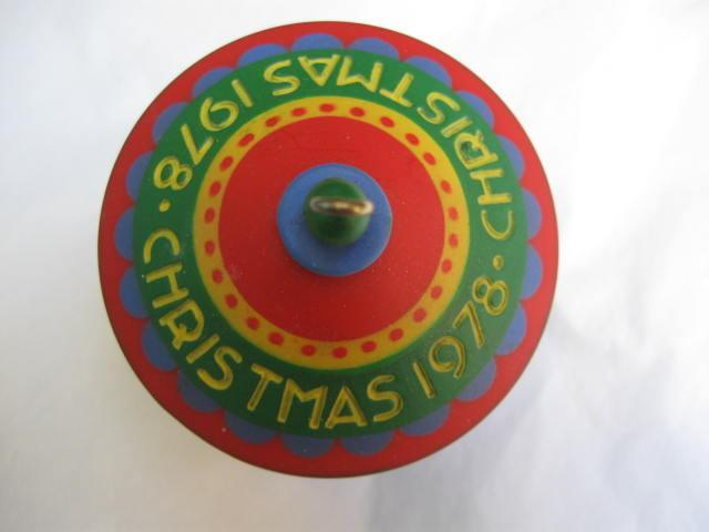 Hallmark 1978 Carousel 1st In Carousel Series Merry Go Round Christmas Tree Ornament