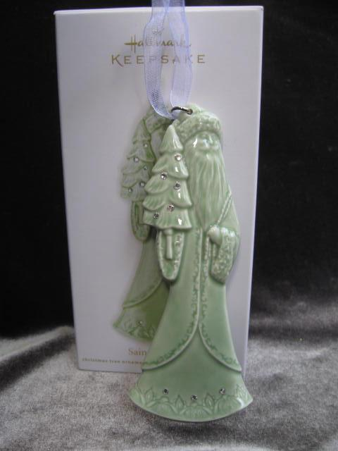 Hallmark 2012 Saint Nicholas Ceramic Christmas  Tree Ornament