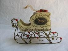 Hallmark 2006 Jingle Bells - Yuletide  Harmony Collection - Sleigh Christmas Tree  Ornament