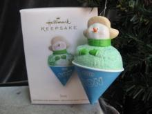 Hallmark 2012 Son Shaved Ice Snowcone Christmas Tree Ornament