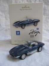 Hallmark 2007  1961 Chevrolet Corvette Mako shark I Christmas Tree Ornament