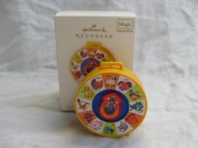 Hallmark 2007  Fisher Price  See N Say From  Yesterday's Treasures Christmas Tree Ornament
