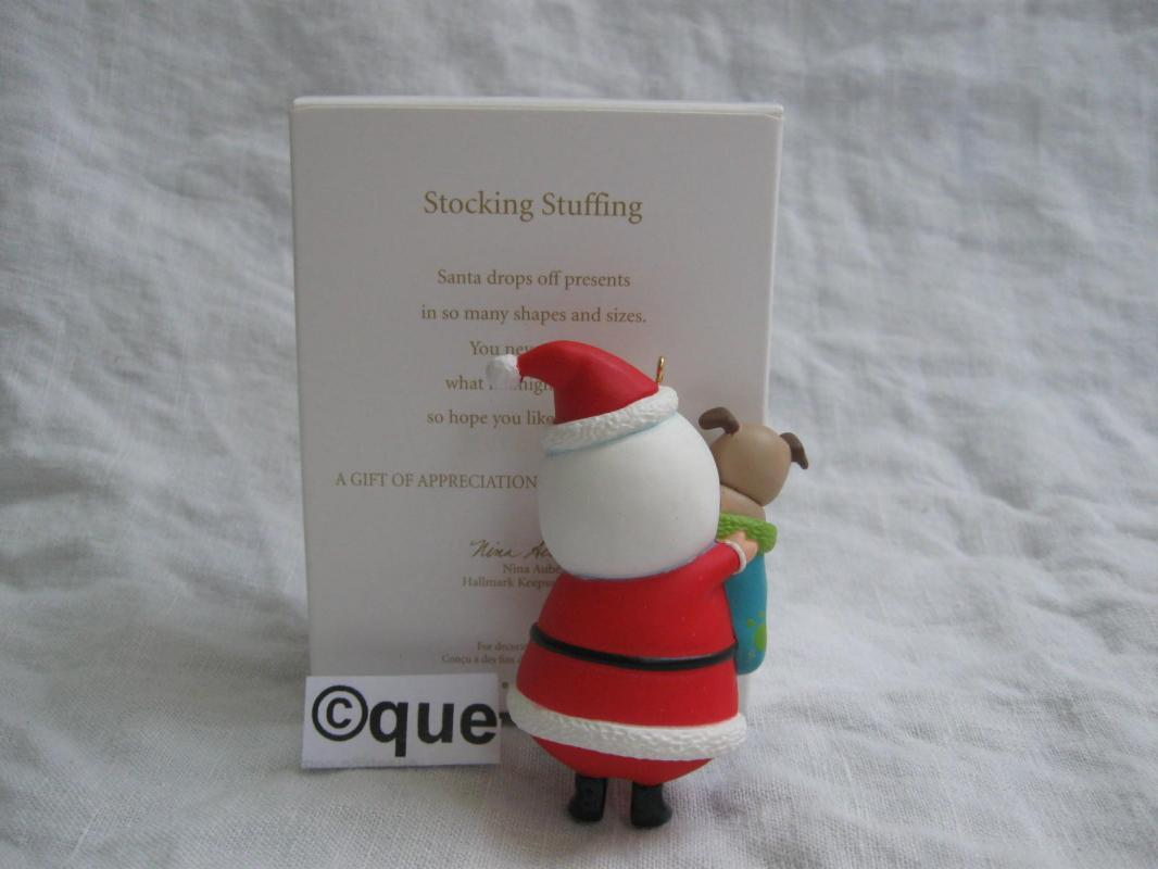 Hallmark 2012  Stocking Stuffing Special VIP Event Christmas Tree Ornament
