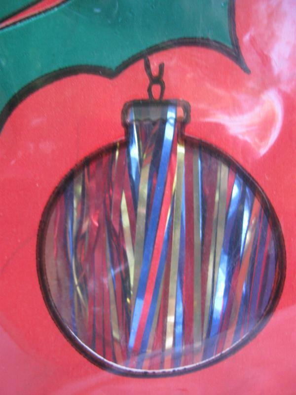 Vintage Metalized Multi Colored Christmas Tree Icicles  Made In USA