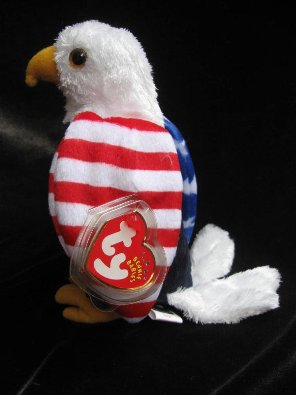Ty Soar The Patriot Eagle  Retired Beanie Baby