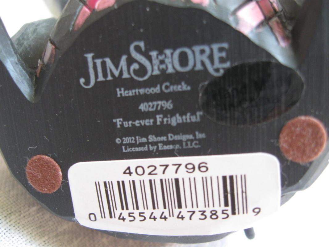 Jim Shore Fur-Ever Frightful Halloween Black Cat Figurine