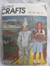 McCall's Crafts 2202 Dorothy & Tin Man Wizard Of Oz Adult Mens & Misses' Halloween Costume Sewing Pattern