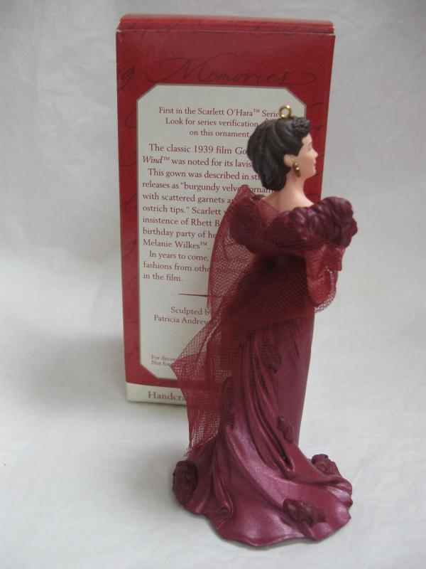 Hallmark 1997 Scarlett O'Hara Gone With The Wind GWTW Christmas Tree Ornament