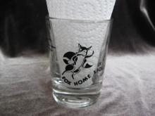 Vintage Shot Glass Foxhome Liquor Store Foxhome MN