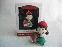 Hallmark 1994 Lucy With Football  The Peanuts Gang Christmas Ornament