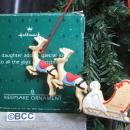 Hallmark 1987 Daughter Christmas Ornament