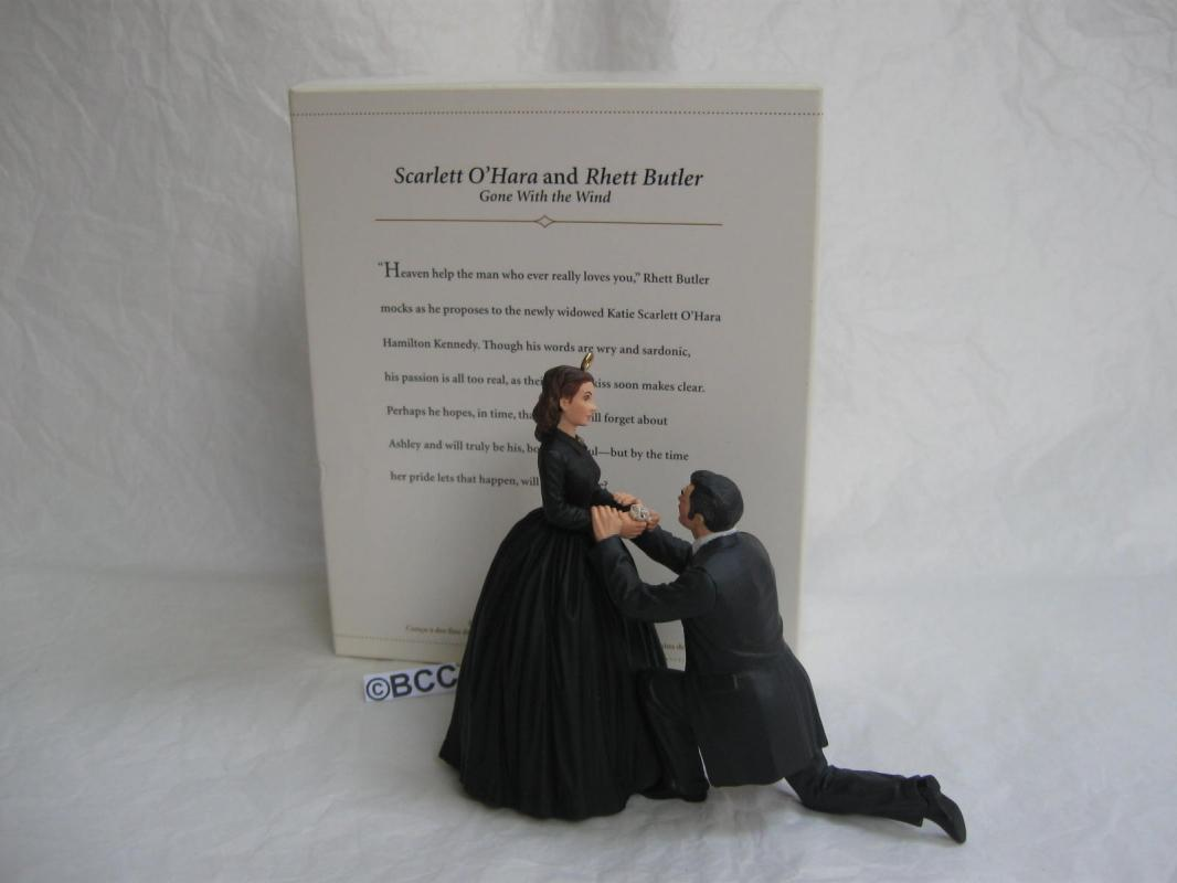 Hallmark 2006 Scarlett & Rhett Marry Me Gone With The Wind Christmas Ornament GWTW