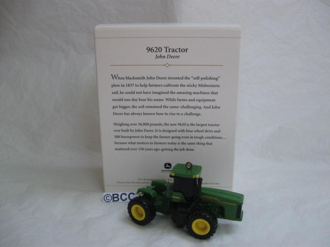 Hallmark 2006 9620 Tractor John Deere Christmas Ornament