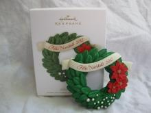 Hallmark 2012 Feliz Navidad Wreath Christmas Ornament