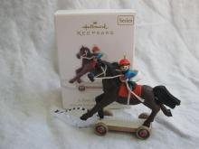 Hallmark 2010 A Pony For Christmas 13th In Series Christmas Ornament