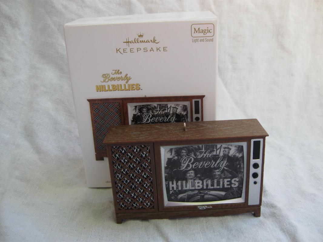 Hallmark 2012 Beverly Hillbillies Magic Light & Sound Christmas Ornaments