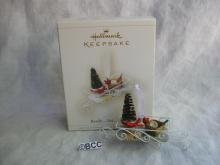 Hallmark 2006  Ready Set Grow Garden Gardener Gardeining Christmas Ornament  Winter Garden Collection