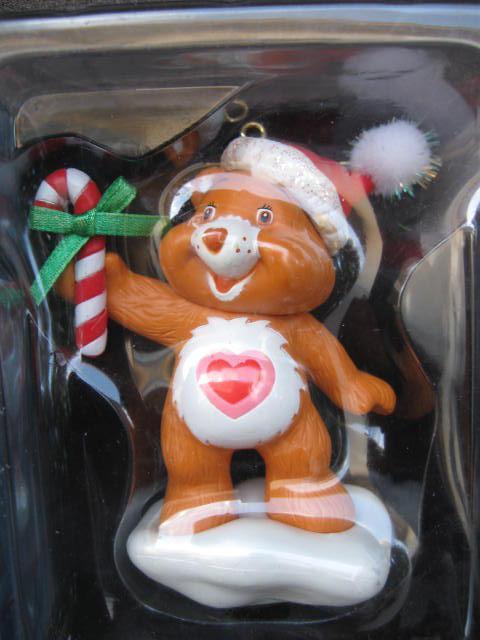 2 Tenderheart Care Bear Christmas Ornaments 1is American Greetings 2004