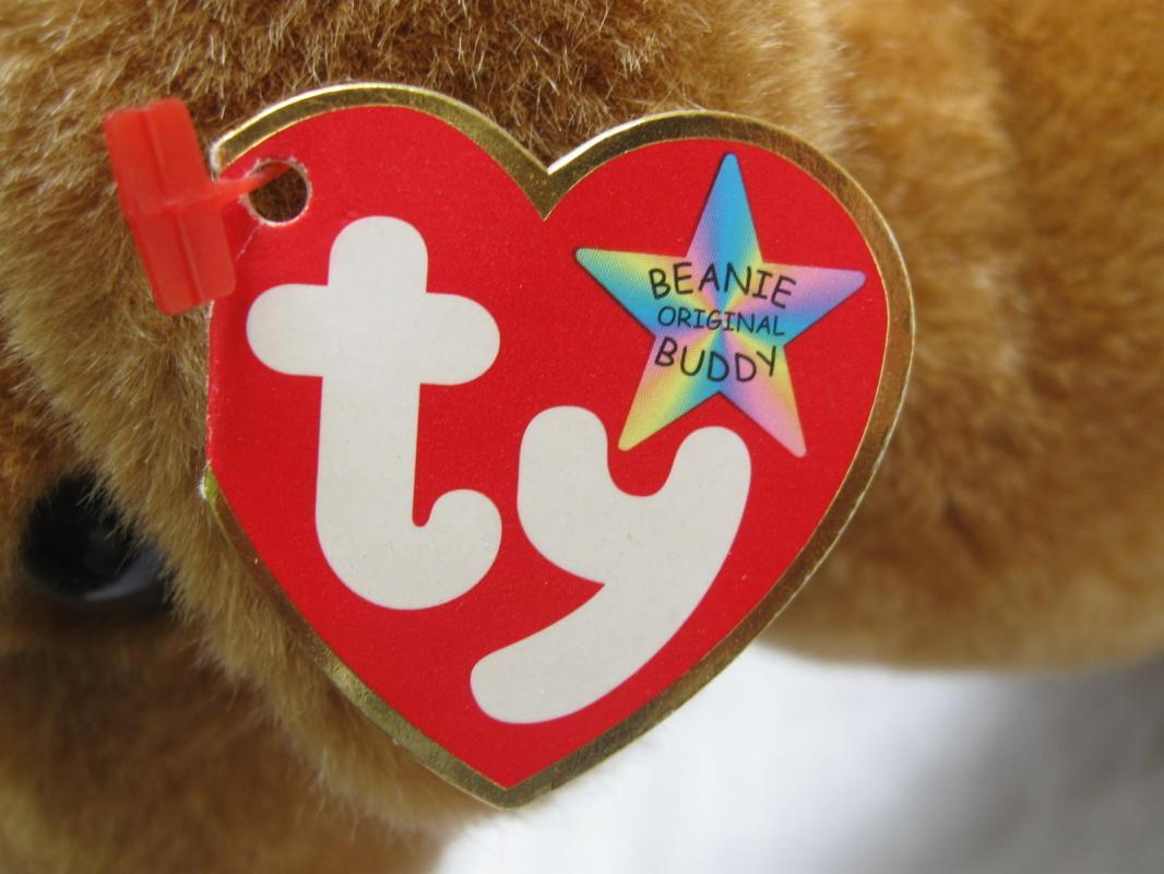 Ty Weenie The  Dachshund Puppy Dog Retired Beanie Buddy